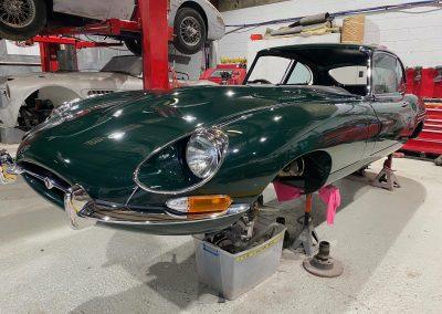 1967 E type Jaguar